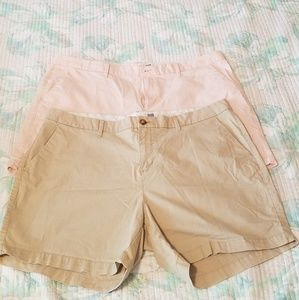 Two pair of Old Navy shorts.